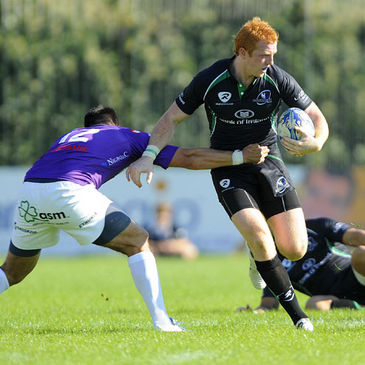 Darragh Fanning in action for Connacht last weekend