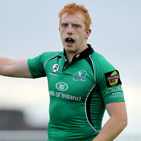 Connacht's new winger Darragh Fanning