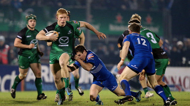 Darragh Leader in action for Connacht
