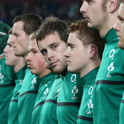Darren Cave played in a non-cap international for Ireland last month