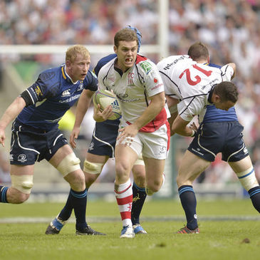 Ulster's Darren Cave in action against Leinster