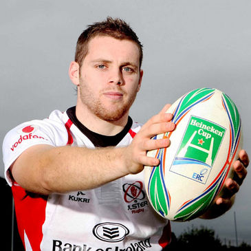 Ulster centre Darren Cave
