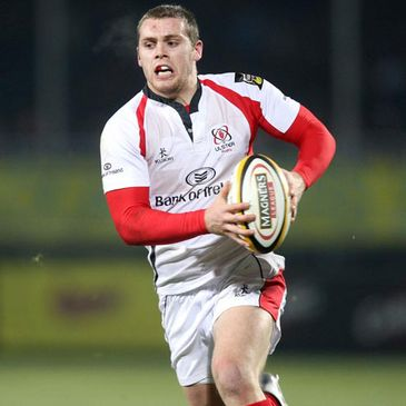 Ulster centre Darren Cave is an injury doubt