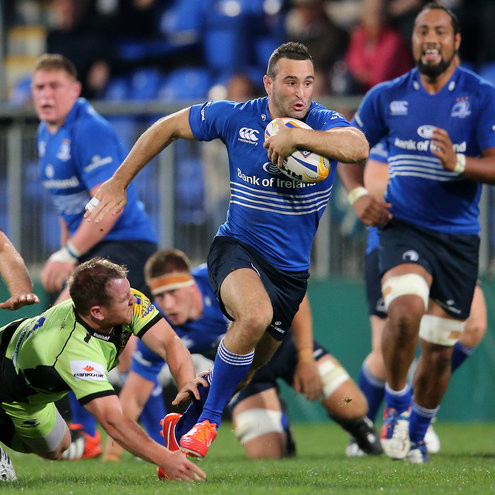 Dave Kearney in action against Northampton Saints