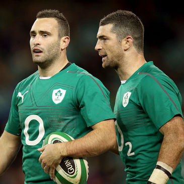 Ireland's Dave and Rob Kearney
