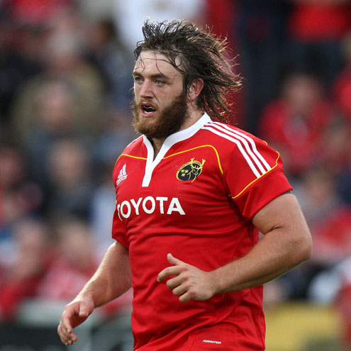 Munster prop Dave Ryan