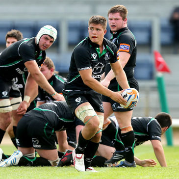 Connacht Eagles flanker David Heffernan