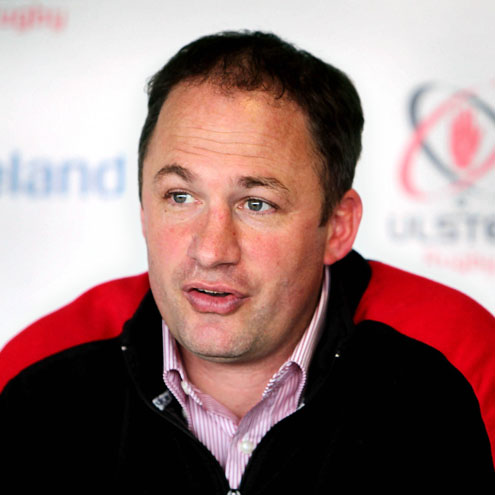 Ulster director of rugby David Humphreys