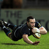 The try marked David Kearney's fourth touchdown in his last three matches for Leinster