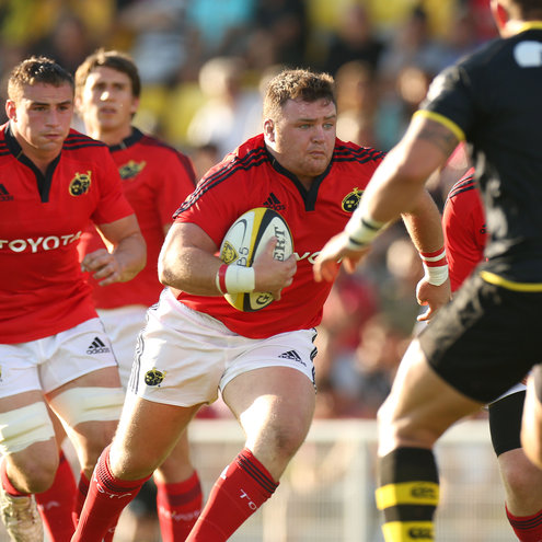 David Kilcoyne in action for Munster