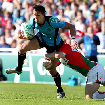 Ulster's David McIlwaine in action against Biarritz