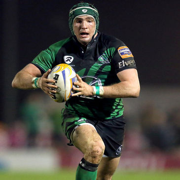 Connacht centre David McSharry