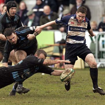 Blackrock's David Rowan in action against Shannon