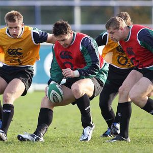 Ireland Squad Training At Donnybrook, Tuesday, November 18, 2008