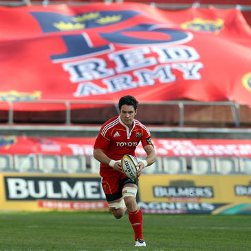 Munster back rower David Wallace