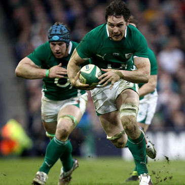 Sean O'Brien supports his back row colleague David Wallace