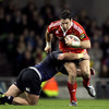 David Wallace was sprung from the replacements bench to make his second appearance of the season for Munster