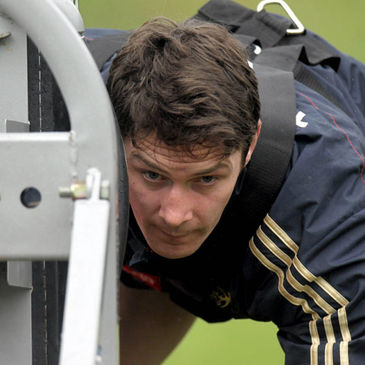 Munster flanker David Wallace