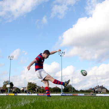 Clontarf's in-form out-half David Joyce