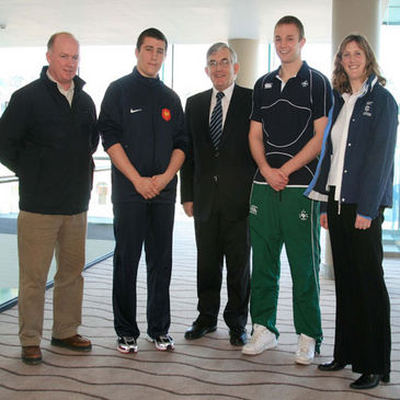 Munster coach Declan Kidney is supporting the 2008 U-18 Six Nations Festival which is taking place in his native Cork