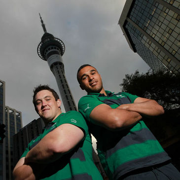 Declan Fitzpatrick and Simon Zebo