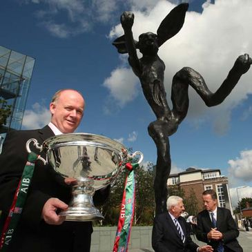 Ireland coach Declan Kidney at the AIB Cup draw