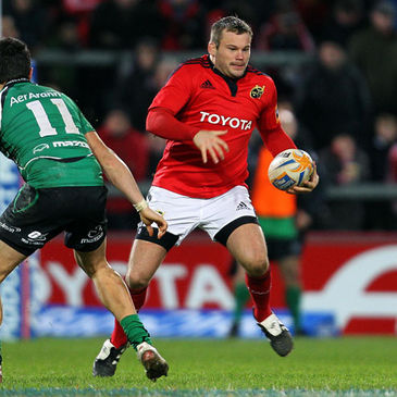 Hooker Denis Fogarty is in his final few weeks as a Munster player