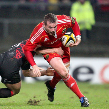 Munster hooker Denis Fogarty