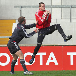 Munster Squad Training At Thomond Park, Tuesday, October 12, 2010
