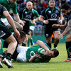 Denis Hurley's 77th-minute try put the seal on a satisfying win for the Irish selection, with all 22 players getting a run-out