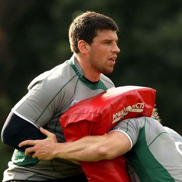 Ireland back rower Denis Leamy