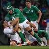 Replacement flanker Denis Leamy was involved in a number of late attacks, one of which could have led to a try for hooker Sean Cronin
