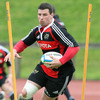 Denis Leamy carries the ball forward, showing the sort of form which has seen him make the Munster number 8 jersey his own