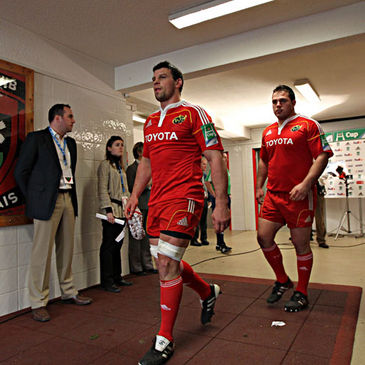 Denis Leamy will captain Munster on Saturday