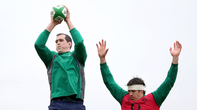 Ireland Squad Training Session At Carton House, Maynooth, Friday, January 31, 2014