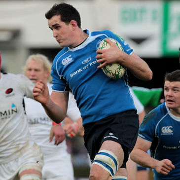 UCD student Devin Toner in action for Leinster