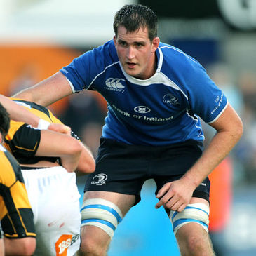 Leinster's Devin Toner in action against Wasps