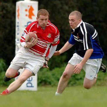 Action from last month's clash between Donegal Town and Inishowen