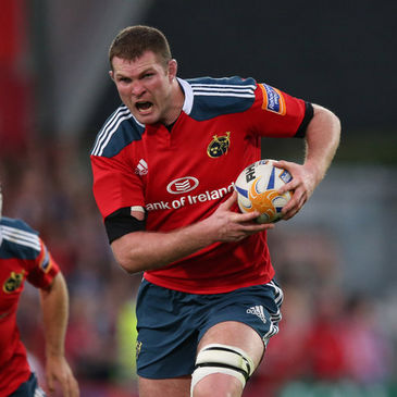 Munster lock Donnacha Ryan