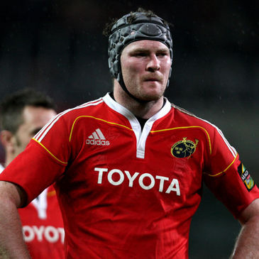 Munster's versatile forward Donnacha Ryan