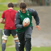 Donncha O'Callaghan is now level on 85 caps with his long-time second row partner Paul O'Connell. Malcolm O'Kelly (92 caps) is Ireland's most-capped lock