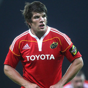 Munster lock Donncha O'Callaghan