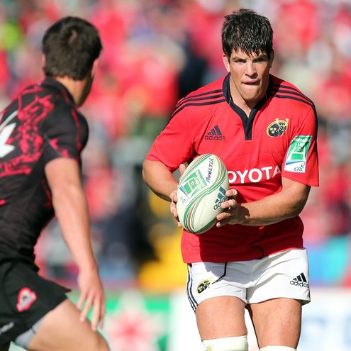Munster second row Donncha O'Callaghan
