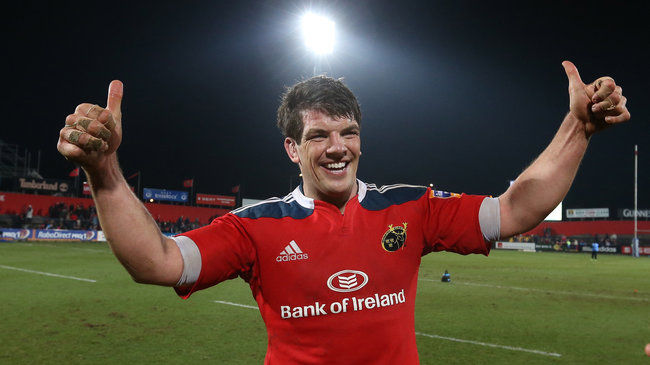 Munster legend Donncha O'Callaghan