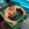 Donncha O'Callaghan and his team-mates regularly use the ice baths after training sessions to help their muscles stay fresh and avoid injury