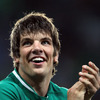 A smiling Donncha O'Callaghan thanks the crowd for the incredible support they gave the Ireland team over the 80 minutes