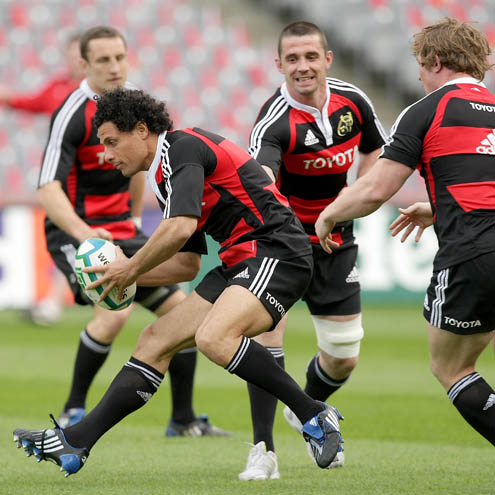 Munster's Captain's Run Session, Croke Park, Friday, May 1, 2009