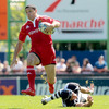 Doug Howlett crossed the Brive whitewash in the second minute, notching his sixth try for Munster in seven games