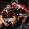 Soaked in sweat and champagne, Sean O'Brien and Jonathan Sexton were thrilled to be part of a Test series-winning Lions side