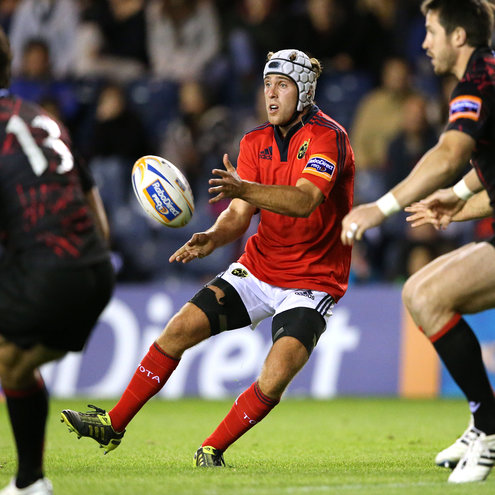 Duncan Williams in action for Munster